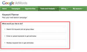 google keyword planner 300x179 Internet gratis dengan VPN SSH Tunnel