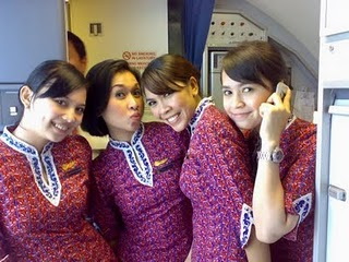 Pramugari Lion Air 9 Foto Panas dan Narsis Pramugari Lion Air